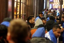 Gamers Queue For Playstation 4 Launch